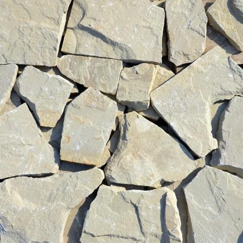 Камінь колотий Теребовля Жовто-сіра