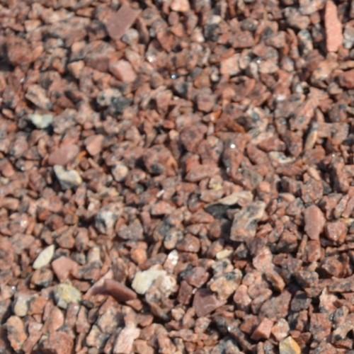 Крихта з природного каменю Червона Гранітна - фракція 5-10 мм.