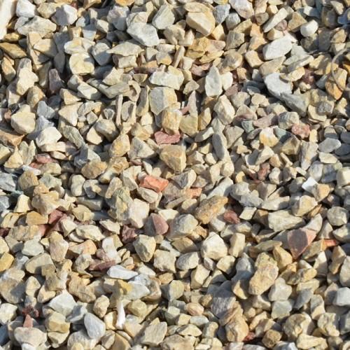 Крихта з природного каменю Кремова Мармурова - фракція 5-10 мм.
