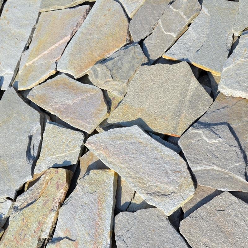 Камінь колотий Дніпропетровський Кварцит Персик