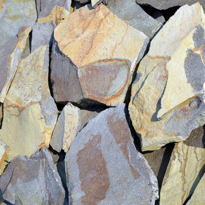 Камінь колотий Закарпатський Жовтий