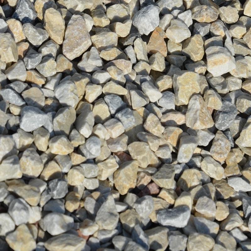 Крихта з природного каменю Кремова Мармурова – фракція 10-20 мм.
