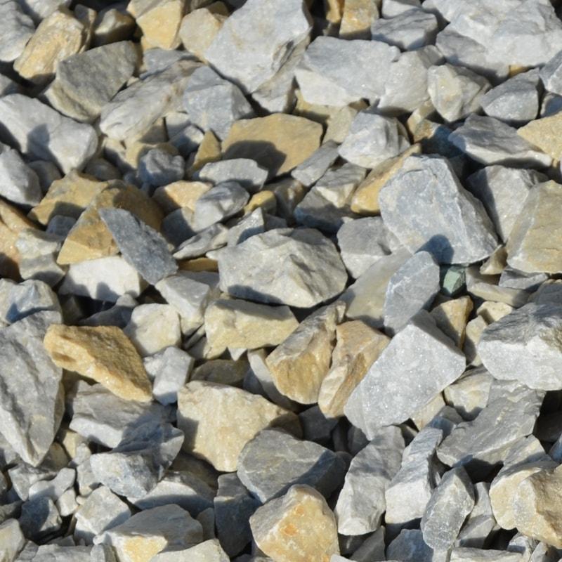 Крихта з природного каменю Сіра Мармурова – фракція 10-20 мм.
