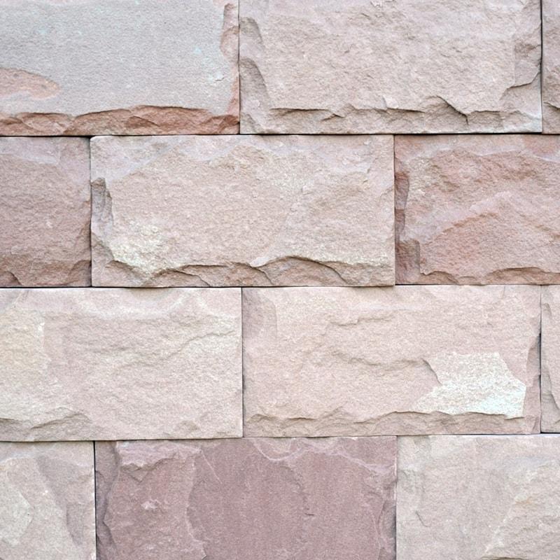 Плиточка з природного каменю Теребовля Червона