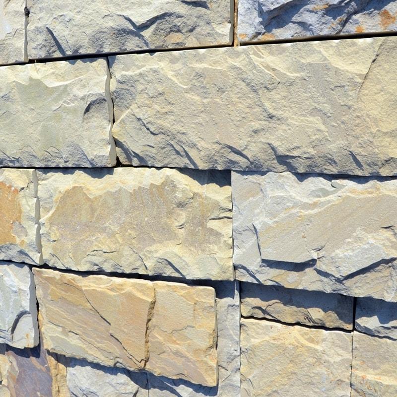 Плиточка з природного каменю Теребовля Жовта