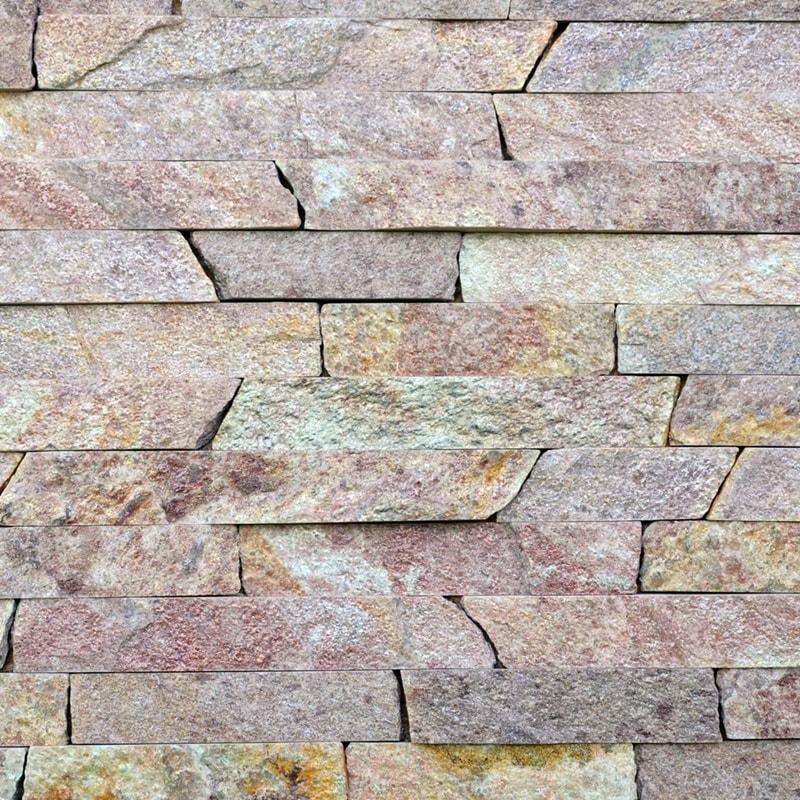 Соломка з природного каменю Кварцит Червоний